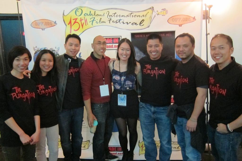 my posse at the Oakland International Film Festival